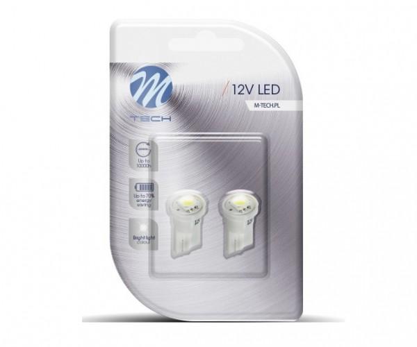LED T10 W5W Lampjes 12V 1x SMD5050 Wit