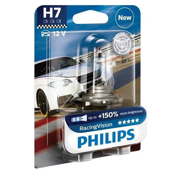 Philips lamp H7 Racing Vision 1st 12972RVB1