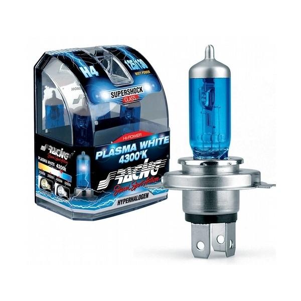Simoni Racing Halogeen lamp H1 (4300K) Plasma White 12V/55W