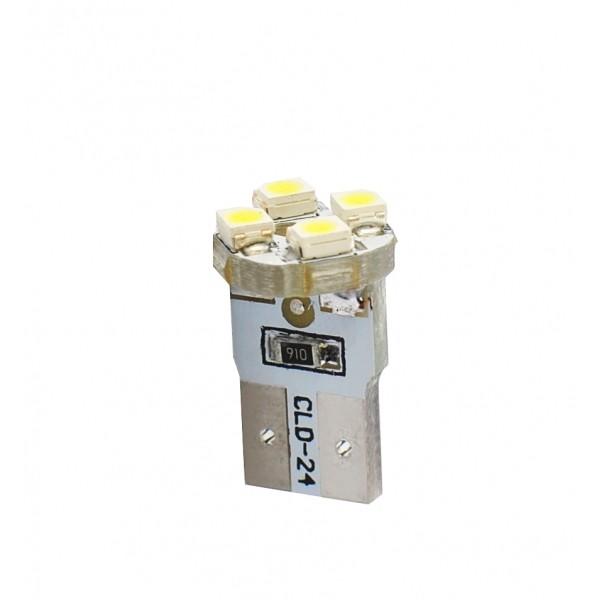 LED T10 W5W Lampjes 4xSMD Wit