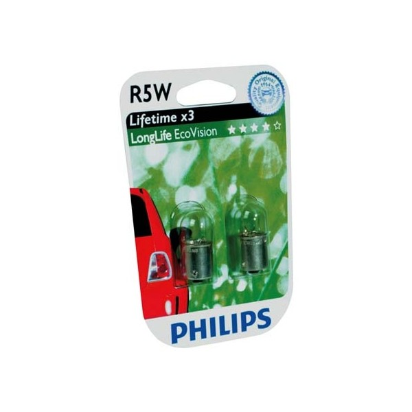 Philips 12821LLECOB2 R5W EcoVision 5W 12V blister