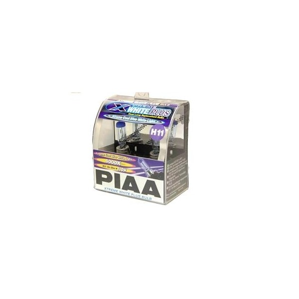 PIAA Xtreme white plus halogeen lampen set H11 met E-keur