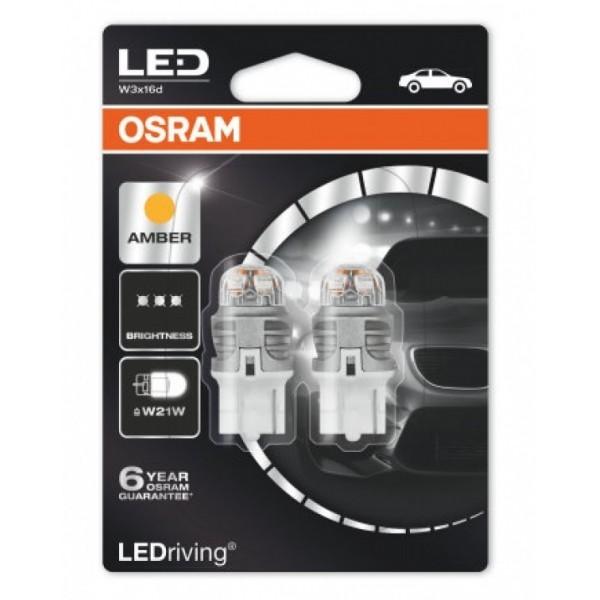 Osram Lamp LED T20 W21W Fitting Oranje Ledriving