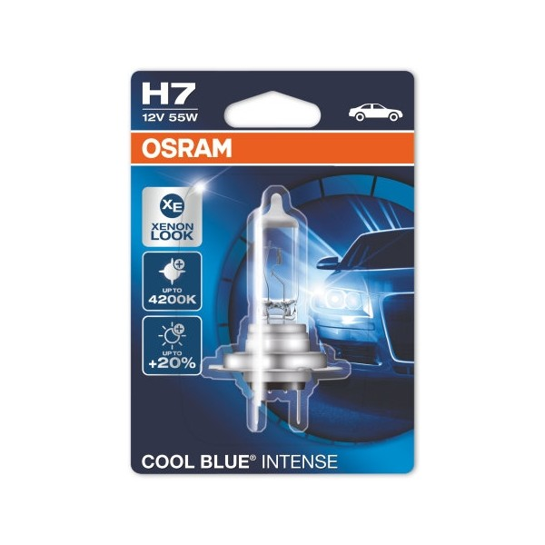 Osram Cool Blue Intense H7 12V 55W 1pc Xenon Look