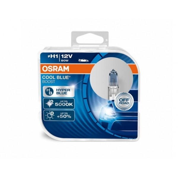 Osram Cool Blue Boost H1 Halogeen lampen - 12V/80W 2pcs