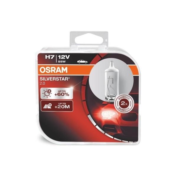 Osram Silverstar 2.0 H7 12V 55W 2pcs/box