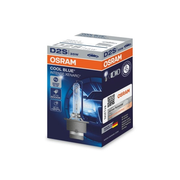 D2S Xenon lamp Osram Cool Blue Intense 35w 1 stk