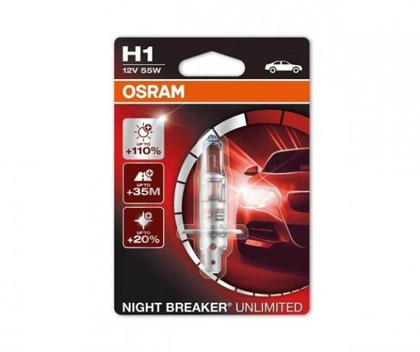 Osram Night Breaker Unlimited H1 1pc
