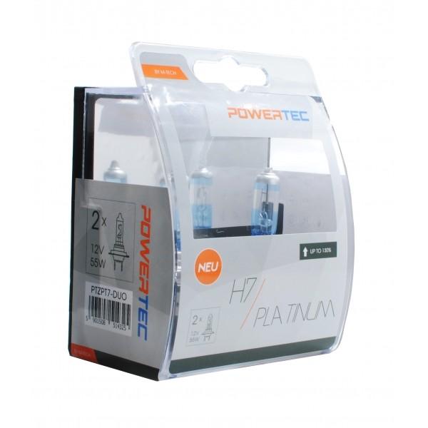 M-tech Powertec Platinum +130% H7 12V DUO