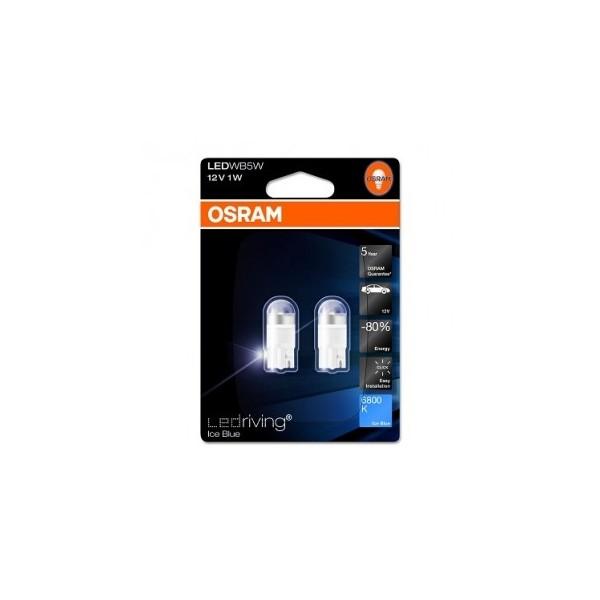 Osram T10 LED Ice blue