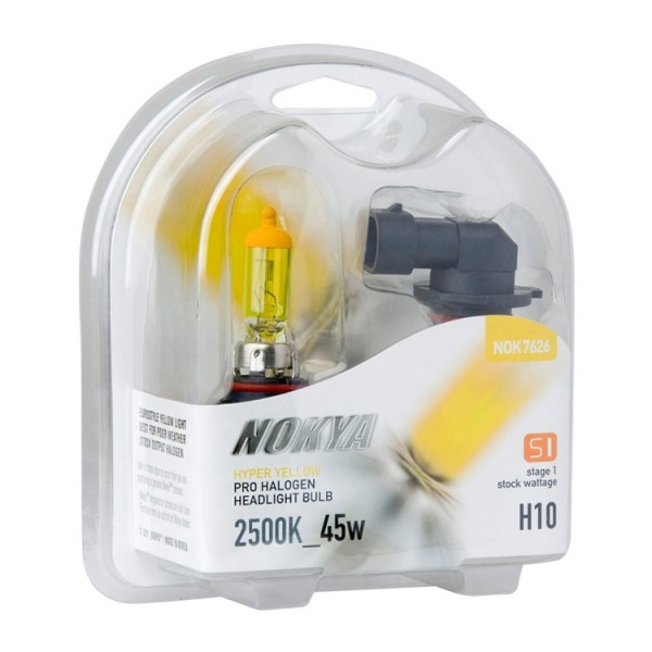 Nokya Stage 1 Hyper yellow H10 2500K 45W