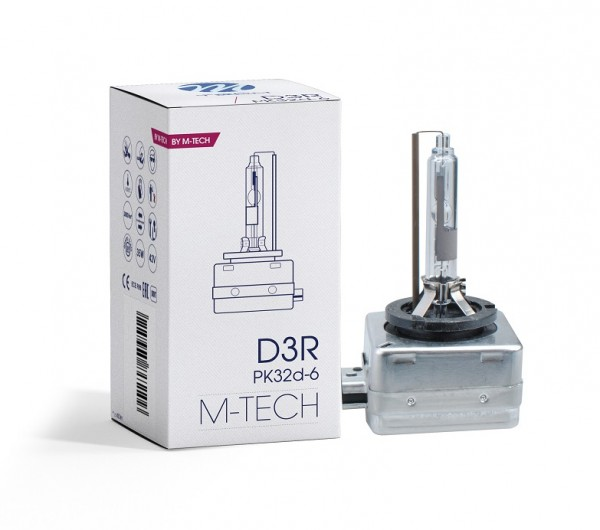 D3R 6000K M-tech Xenon lamp