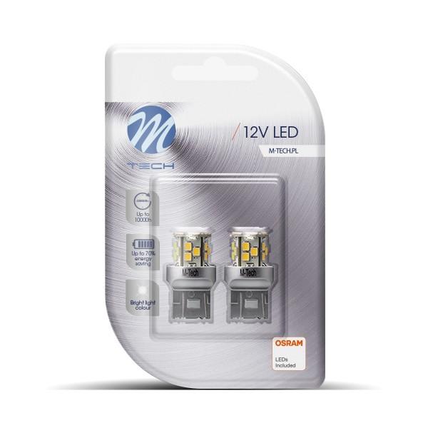 LED T20 W21/5W Lampje 12v 21xSMD2835 Wit
