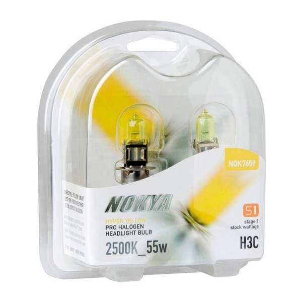 Nokya Stage 1 Hyper yellow H3C 2500K 55W