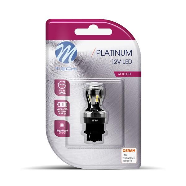 LED P27W 3156 Lampje 12-24V 14x2835SMD Canbus Wit