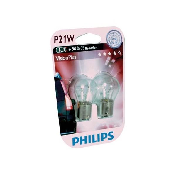 Philips 12499VPB2 P21/5W VisionPlus 5W 12V blister