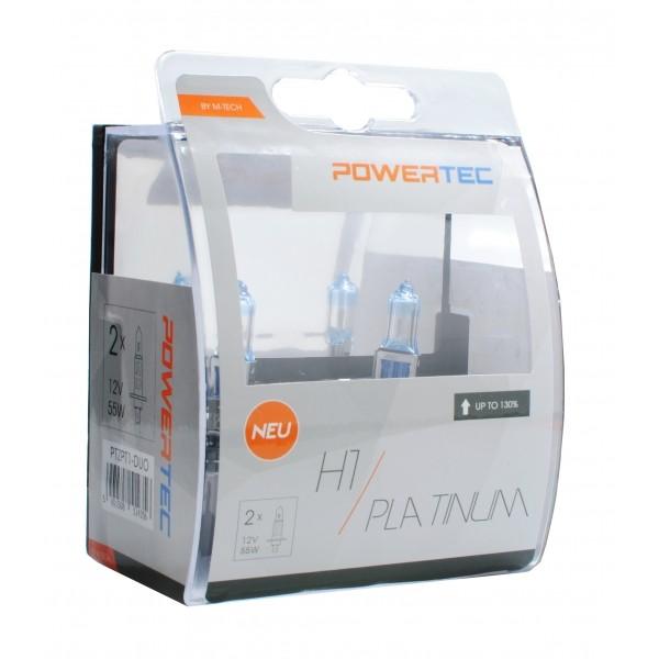 Powertec Platinum +130% H1 12V DUO BULB